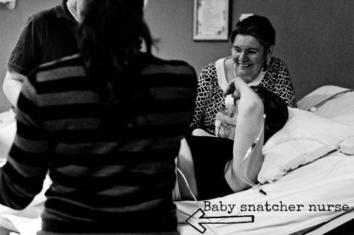 baby snatcher nurse