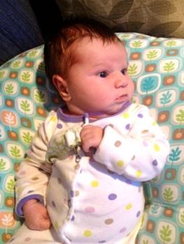 Genevieve watching tv 19 days